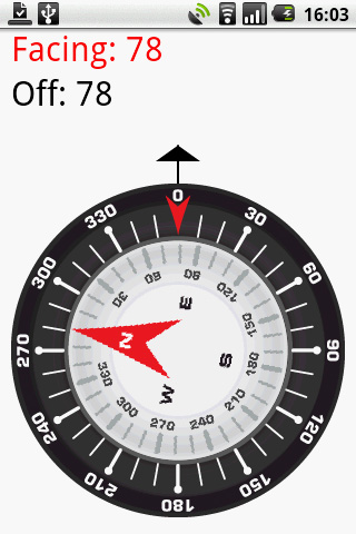 A compass and orienteering application written for the Android mobile platform