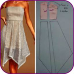 Image of Dress patterns. Diy sewing