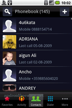 A new user interface for your contacts