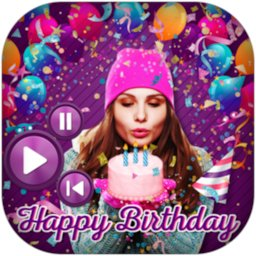 Image of Birthday Photo Effect Video Maker with Song