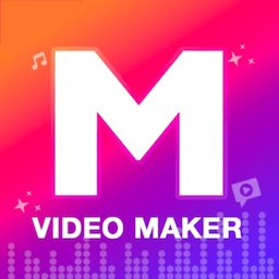 M Video Maker with music, Master in Video Editor icon
