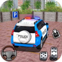 Image of Police Jeep Spooky Stunt Parking 3D 2