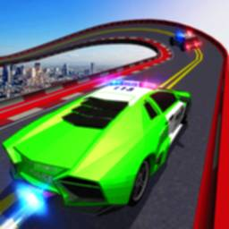 Image of Police Mega Ramp Car Simulator Cops Racing Stunts