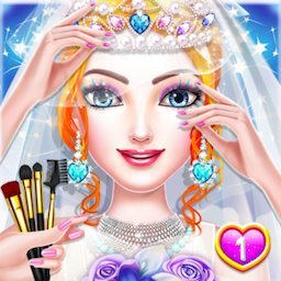Image of Princess Wedding Magic Makeup Salon Diary Part 1