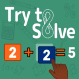 Image of Try to Solve! Math mental and logic exercises