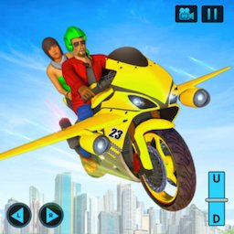 Image of Real Flying Bike Taxi Simulator