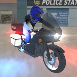 Image of Real Police Motorbike Simulator 2020