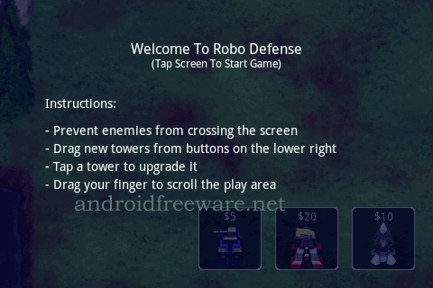 Robo Defense is the ultimate portable tower defense experience