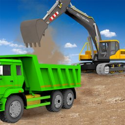 Image of Sand Excavator Truck Driving Rescue Simulator game