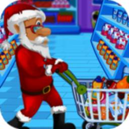 Image of Santa Supermarket Shopping