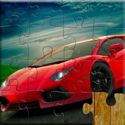 Image of Sports Car Jigsaw Puzzles Game