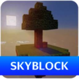 Image of Skyblock Survival Map for Minecraft PE