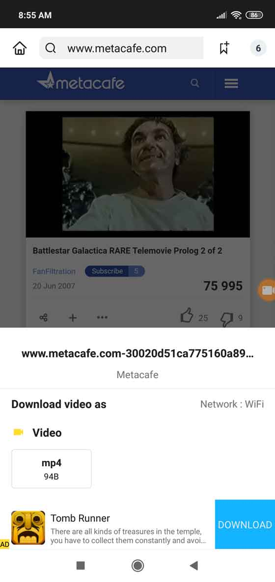Download videos from every website
