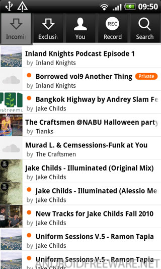 SoundCloud for Android is the official application that brings the SoundCloud experience to your mobile.