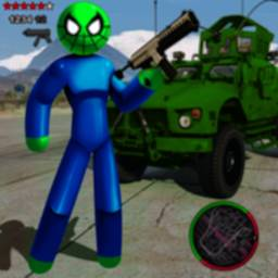 Image of Spider StickMan Rope Hero Mafia Gangster Vegas