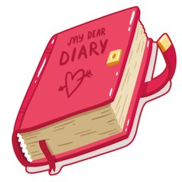 Image of Diary - Notes, Goals,Monthly Planner & Reminder.