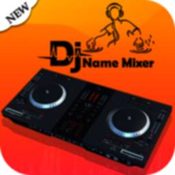 Image of DJ Name Mixer with Music Player