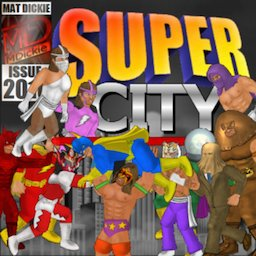 Image of Super City (Superhero Sim)
