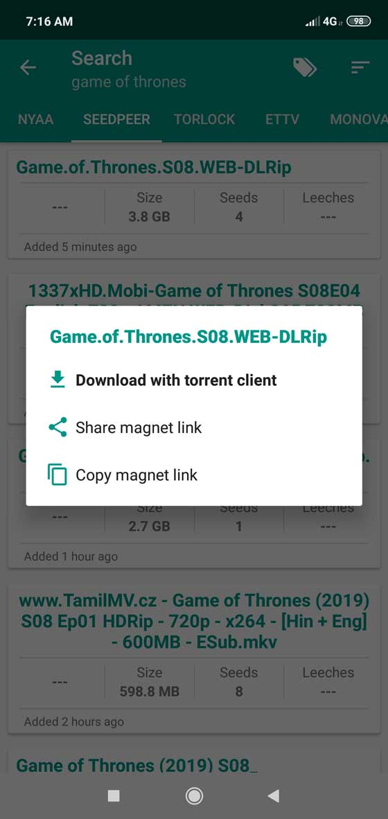 torrent search engine ad free apk download