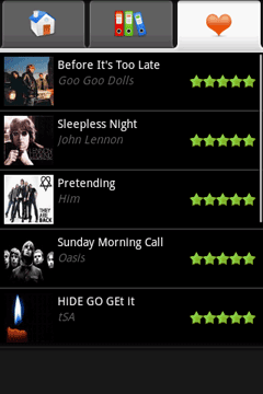 Tunes for Android delivers ringtones to your phone for free