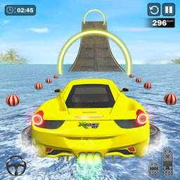 Image of Water Surfing Car Stunts