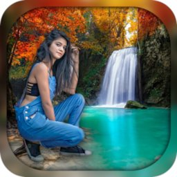 Image of Waterfall Photo Editor & Photo Frames