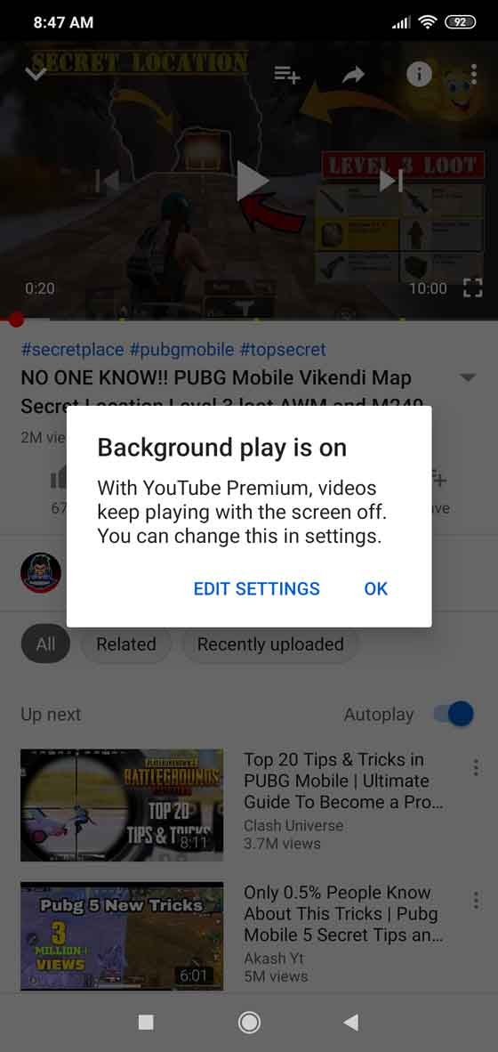 YouTube Vanced: Remove ads from YouTube and play videos in background