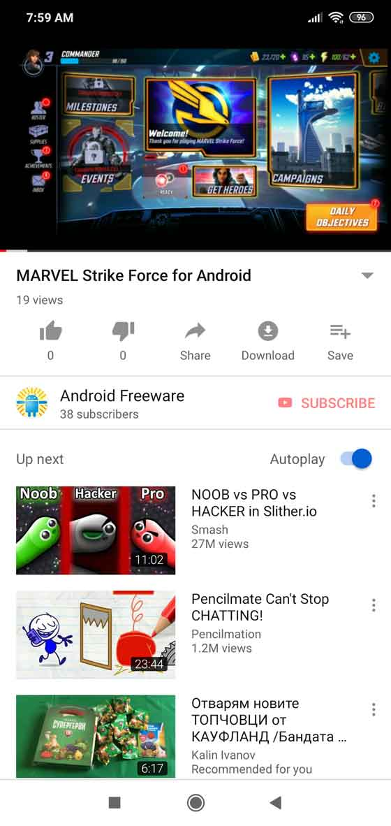 YouTube without ads