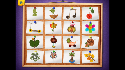 123 Kids Fun AUTUMN PUZZLE - Free Educational Game  screenshot 2