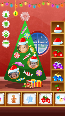 123 Kids Fun CHRISTMAS TREE - Free Educational Game  screenshot 1