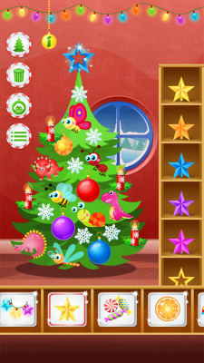 123 Kids Fun CHRISTMAS TREE - Free Educational Game  screenshot 2