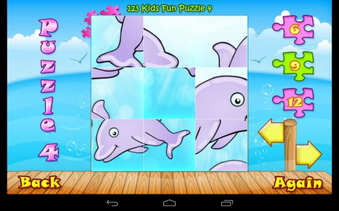 123 Kids Fun PUZZLE GOLD - Free Educational Jigsaw Puzzle Game  screenshot 2
