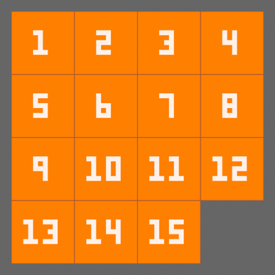 Image of 15 Puzzle
