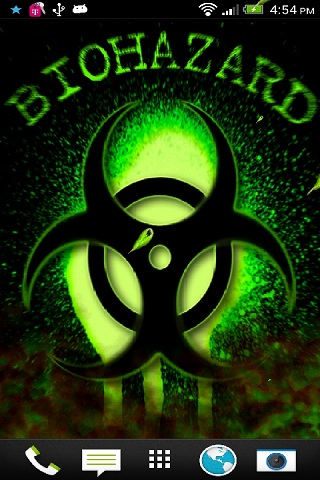 3D Bio Hazard Live Wallpaper Free Free App Download Android Freeware