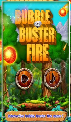 3D Bubble Buster Fire screenshot 1