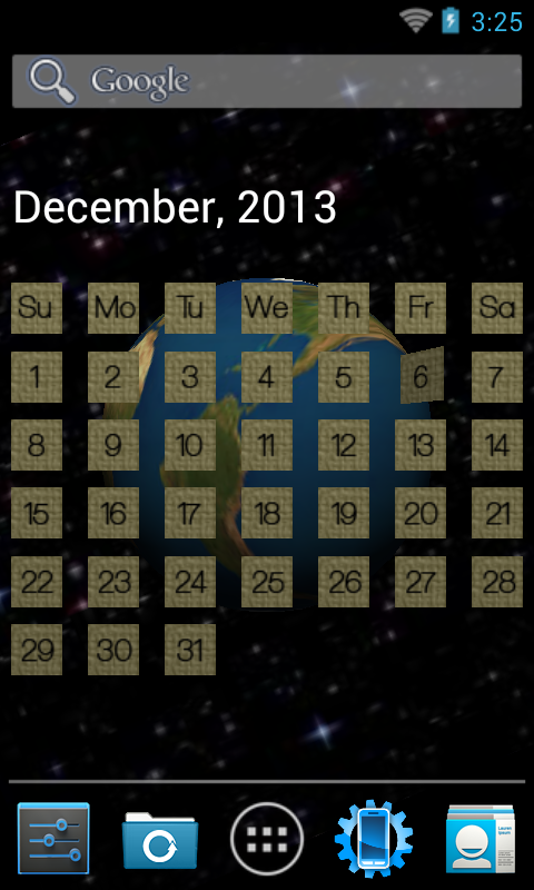 Calendar Wallpaper Program : D calendar livewallpaper free apk android app