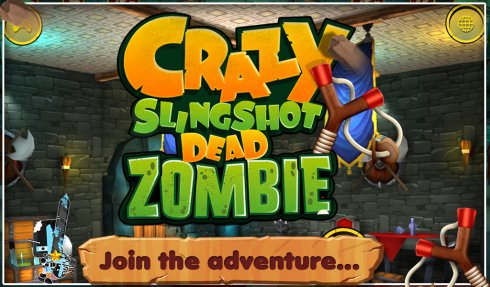 3D Crazy Slingshot Dead Zombie screenshot 1