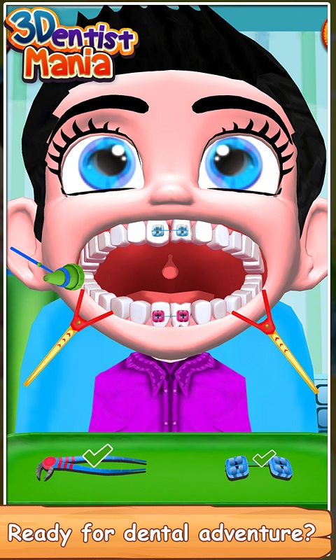 3D Dentist Mania screenshot 1