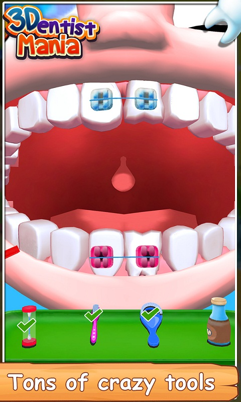3D Dentist Mania screenshot 2