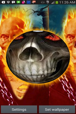 Download 3D Ghost Rider Live Wallpaper