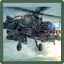 Image of 3d Helicopter Apache threat of destruction