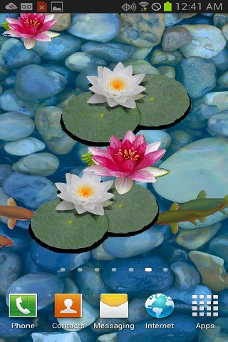 download 3d koi pond live wallpaper free free for your android phone