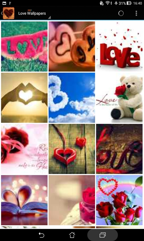 3D Love Wallpapers screenshot 1