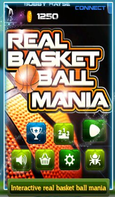 3D Real Basket Ball Mania screenshot 1