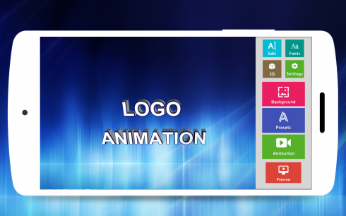 3D Text Animator - Intro Maker, 3D Logo Animation for Android