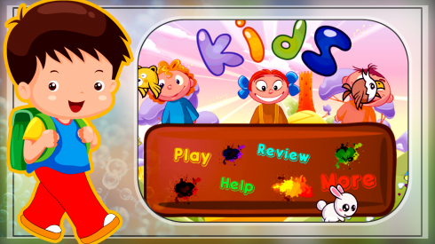 ABC Kids English Spelling Game screenshot 1