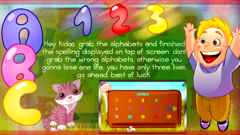 ABC Kids English Spelling Game screenshot 2