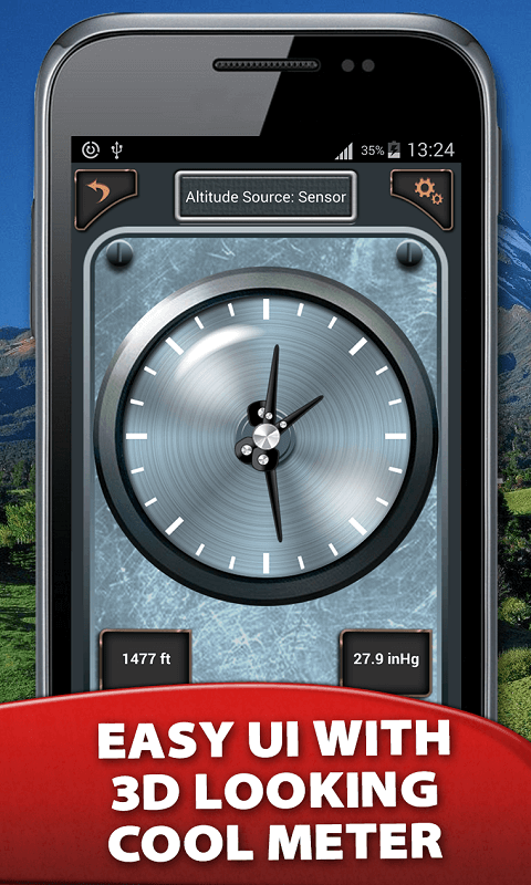 Accurate Altitude Meter Free Android App Android Freeware - Elevation measurement app