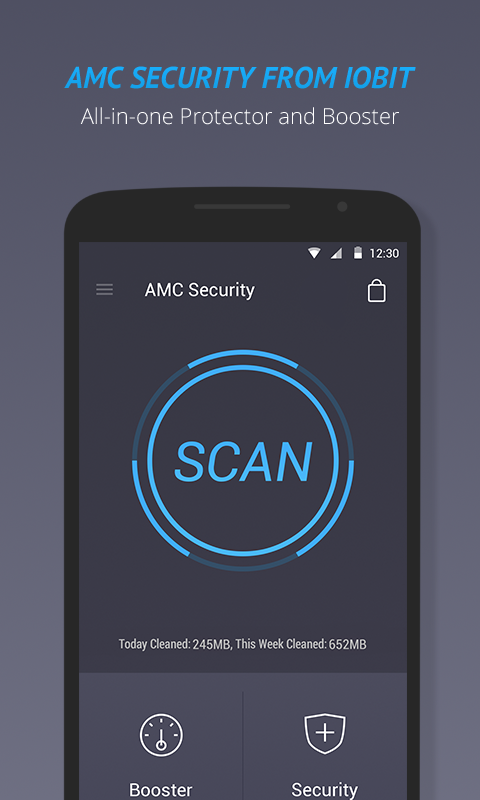 AMC Security- Antivirus, Clean screenshot 1