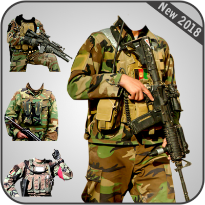 Image of Afghan Army Suit Editor - Uniform changer 2018